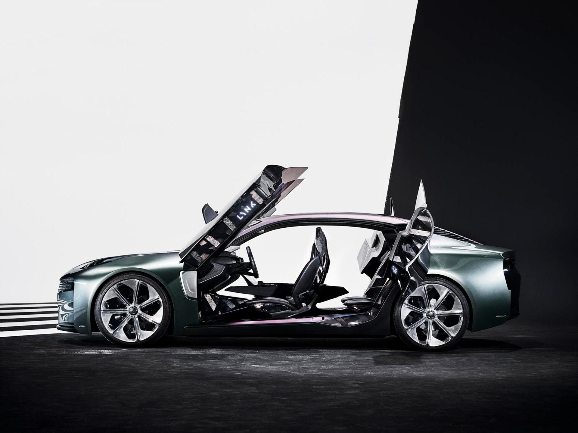 Ny konceptbil från Lynk & Co