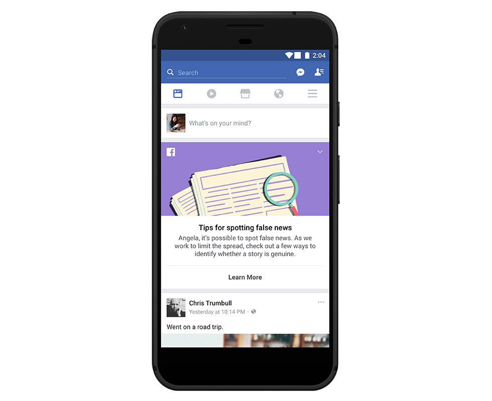 Facebook lanserar verktyg för att göra oss mer källkritiska