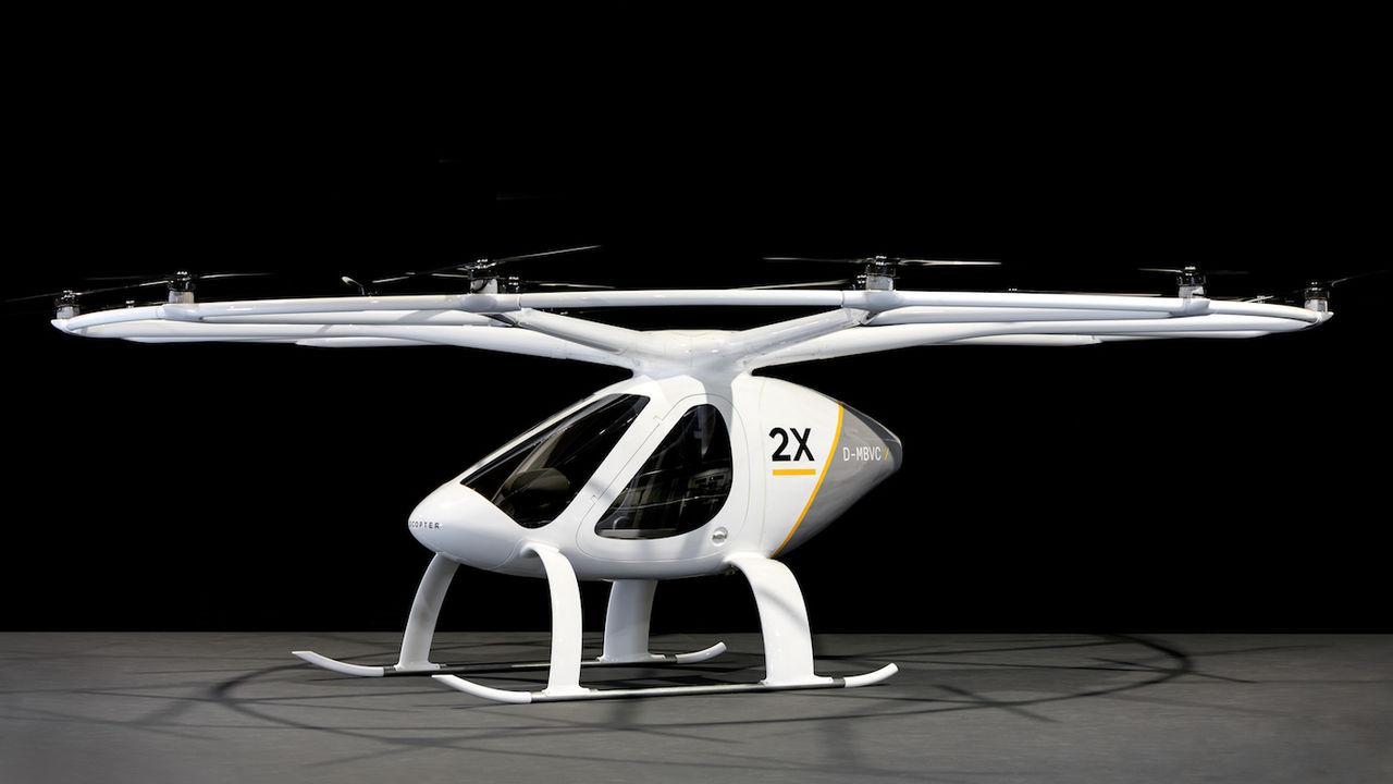 Multikoptern E-Volo 2X släpps på marknaden nästa år