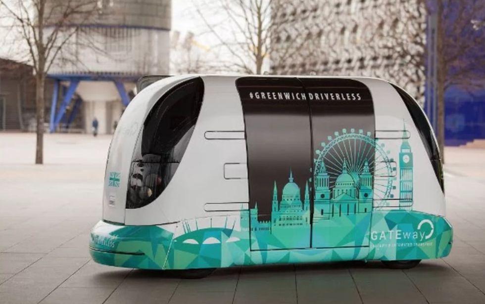London testar förarlös kollektivtrafik