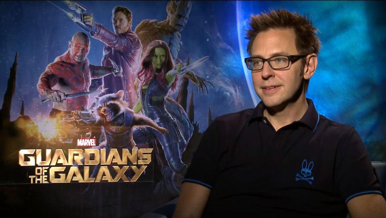 James Gunn kommer återvända för Guardians of the Galaxy Vol. 3
