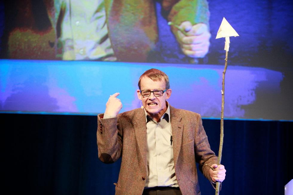 Hans Rosling får FN:s Befolkningspris 2017