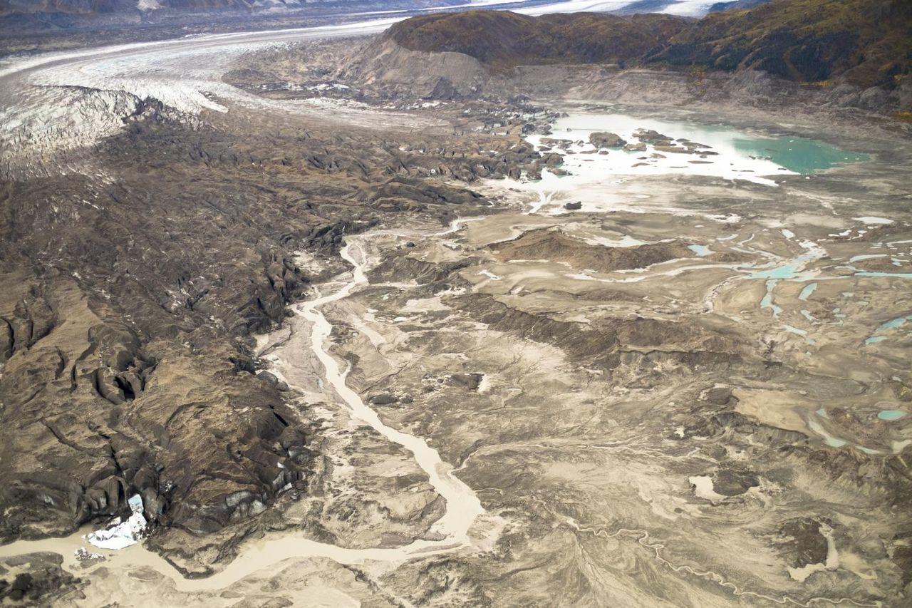 En flod i Kanada försvann på några dagar