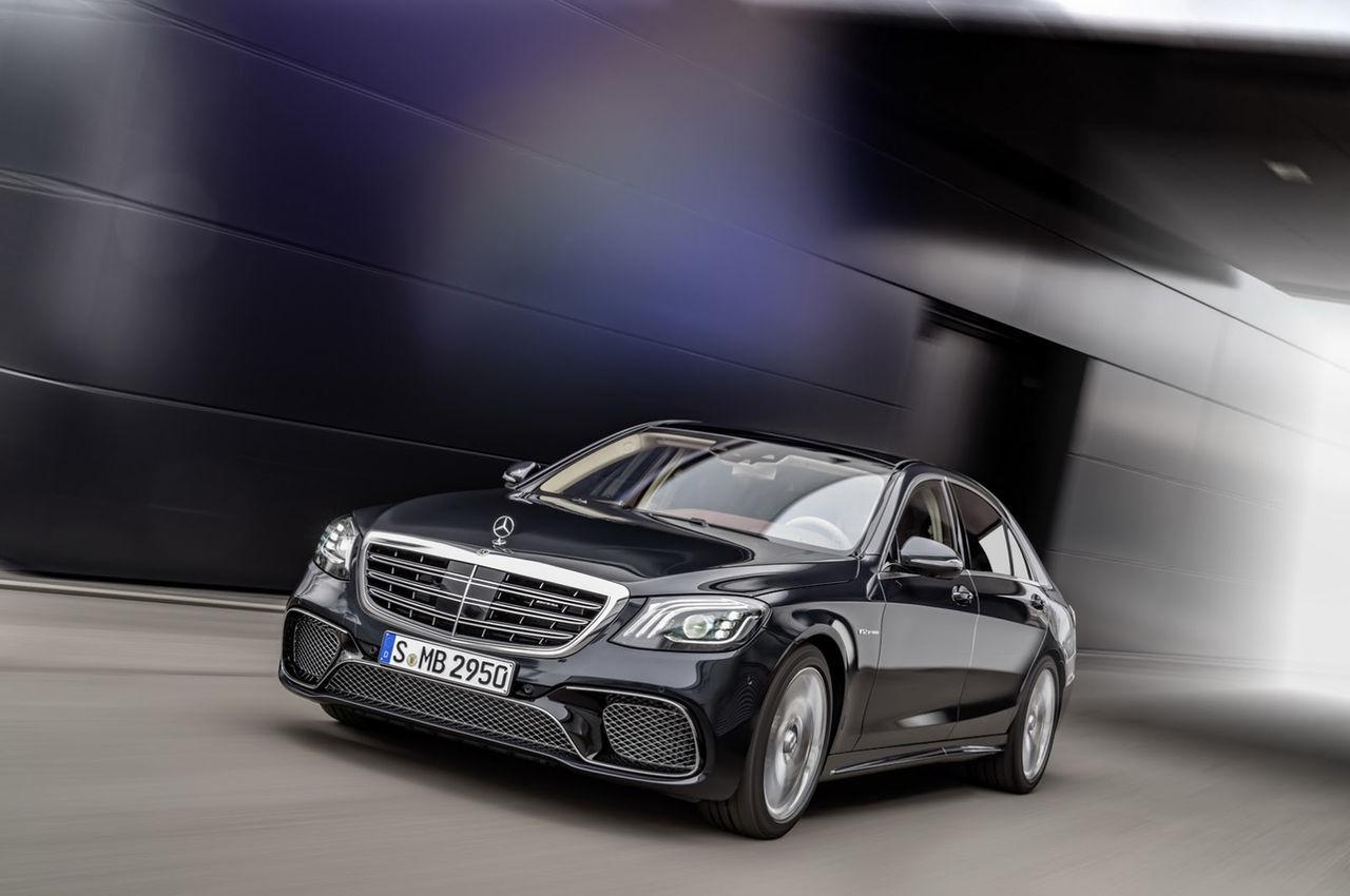 Mercedes visar upp S-Klass nya ansikte