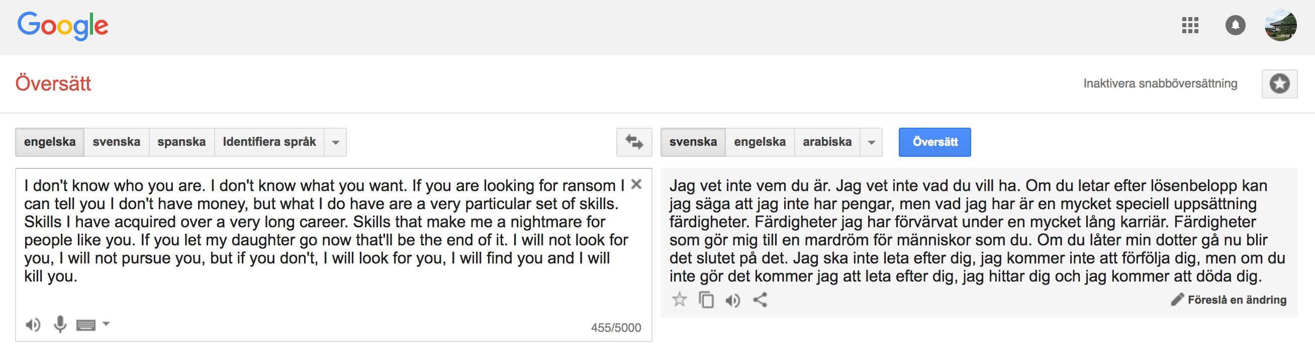Svenska Finska Translate