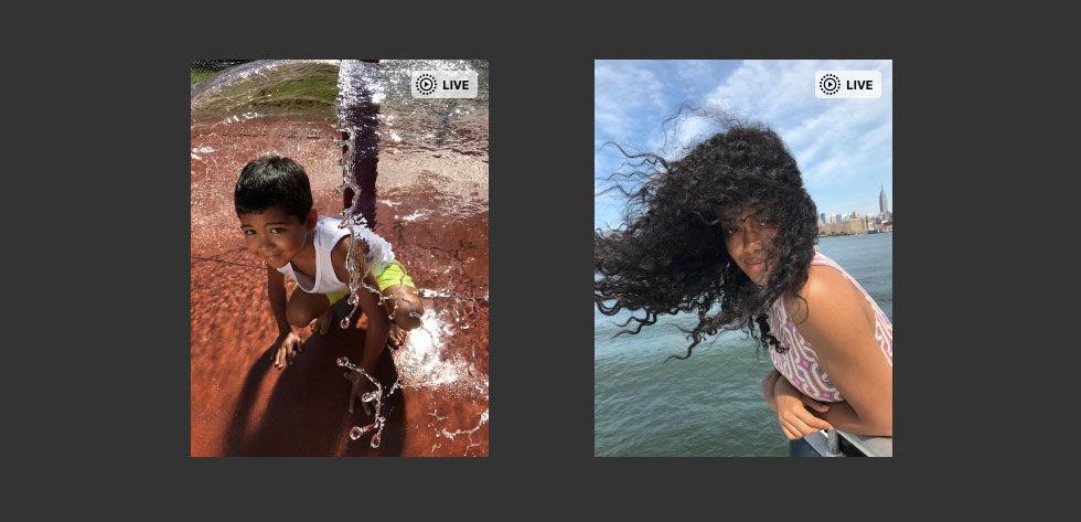 Apple fixar så att man kan se Live Photos på webben
