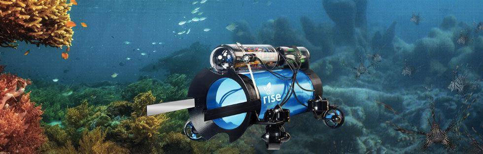 Guardian LF1 är en robot som fångar drakfiskar