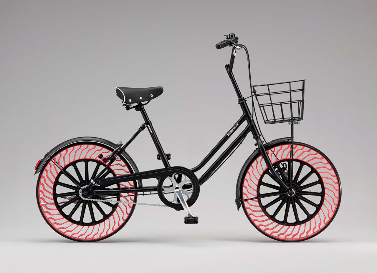 Luftfria däck snart även till cyklar