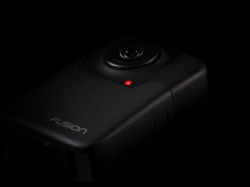 GoPro visar upp Fusion