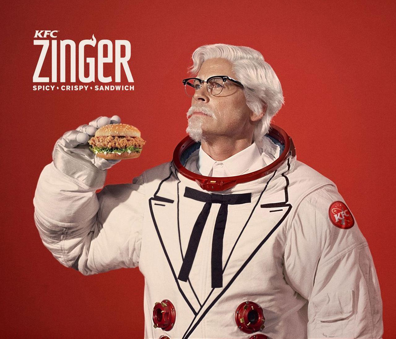 Rob Lowe gör reklam för KFC