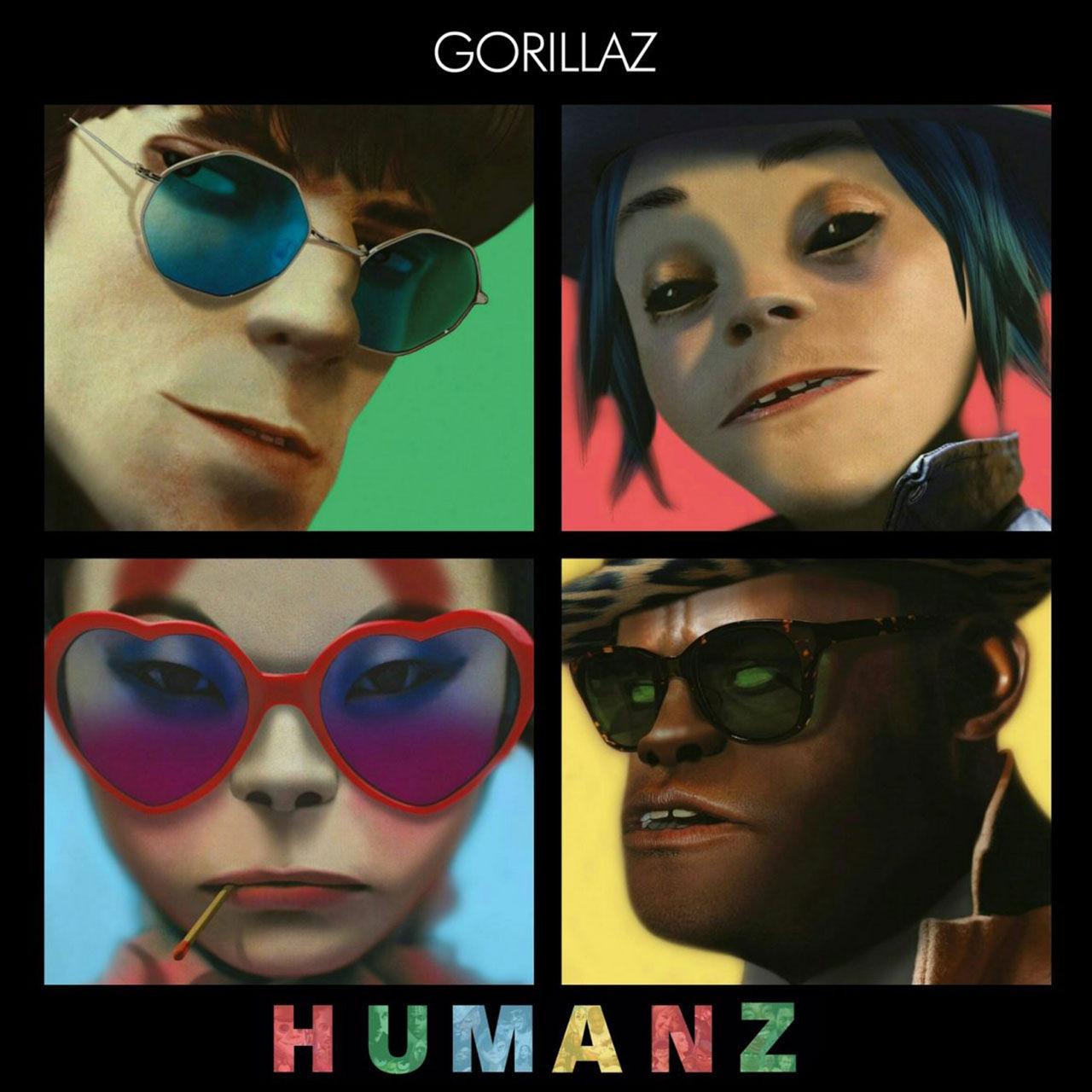 Nu kan du strömma Gorillaz nya album