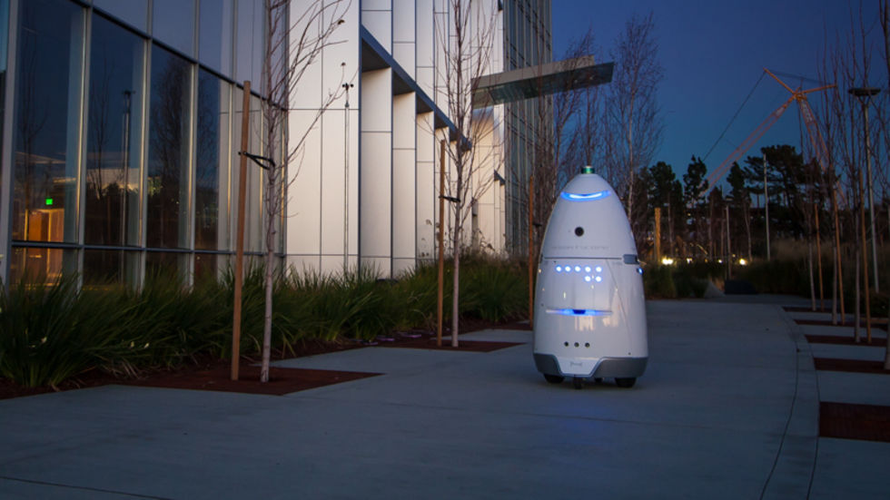 Fyllo välte säkerhetsrobot