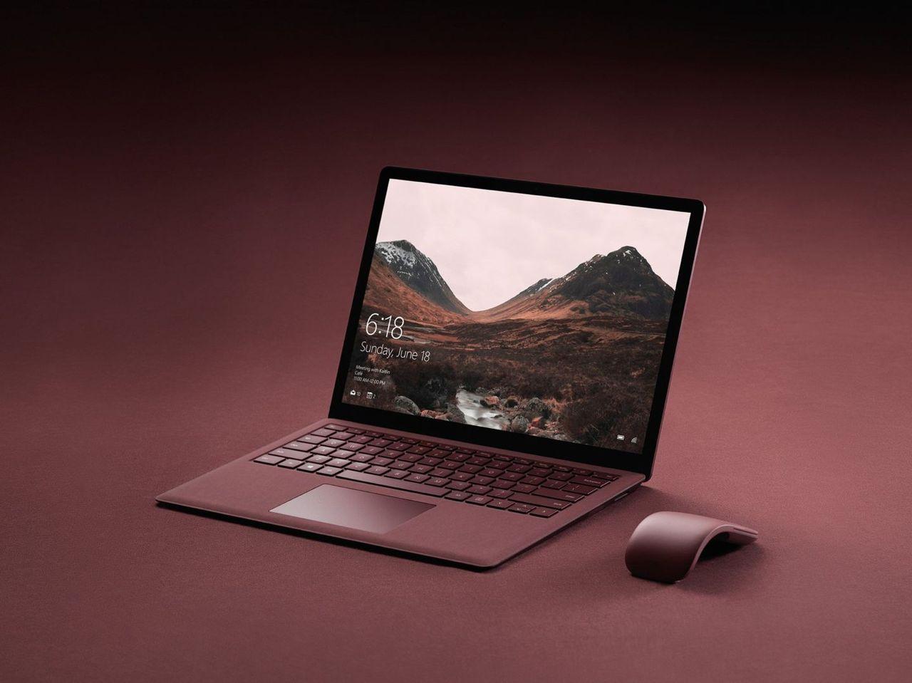 Microsoft visar upp Surface Laptop