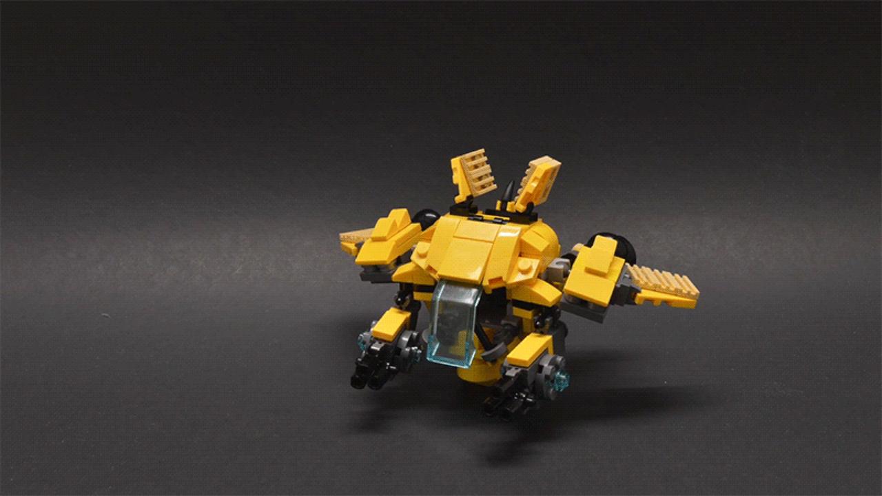 Bygg en egen D.Va-mech i LEGO