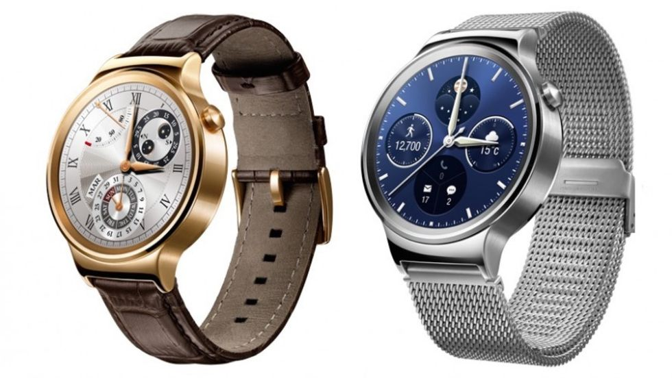 Huawei Watch får Android Wear 2.0