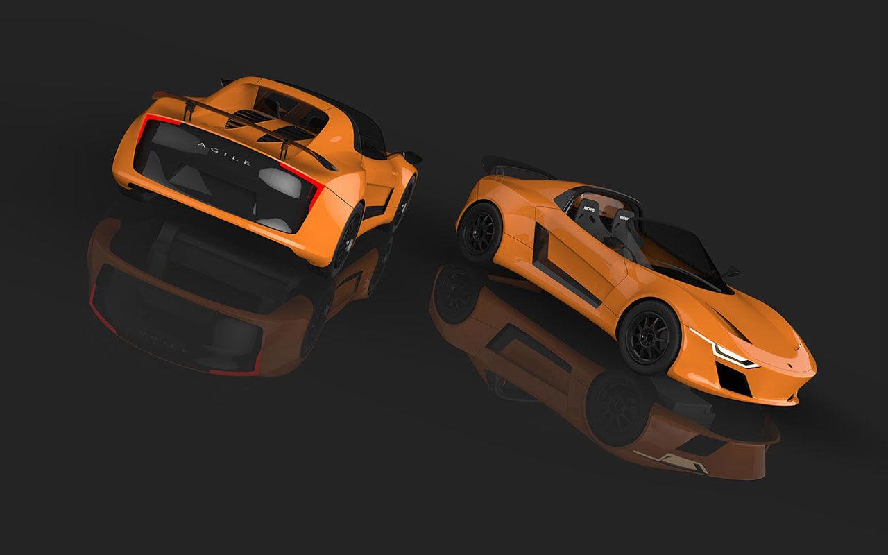Danska Agile Automotive vill utmana Lotus