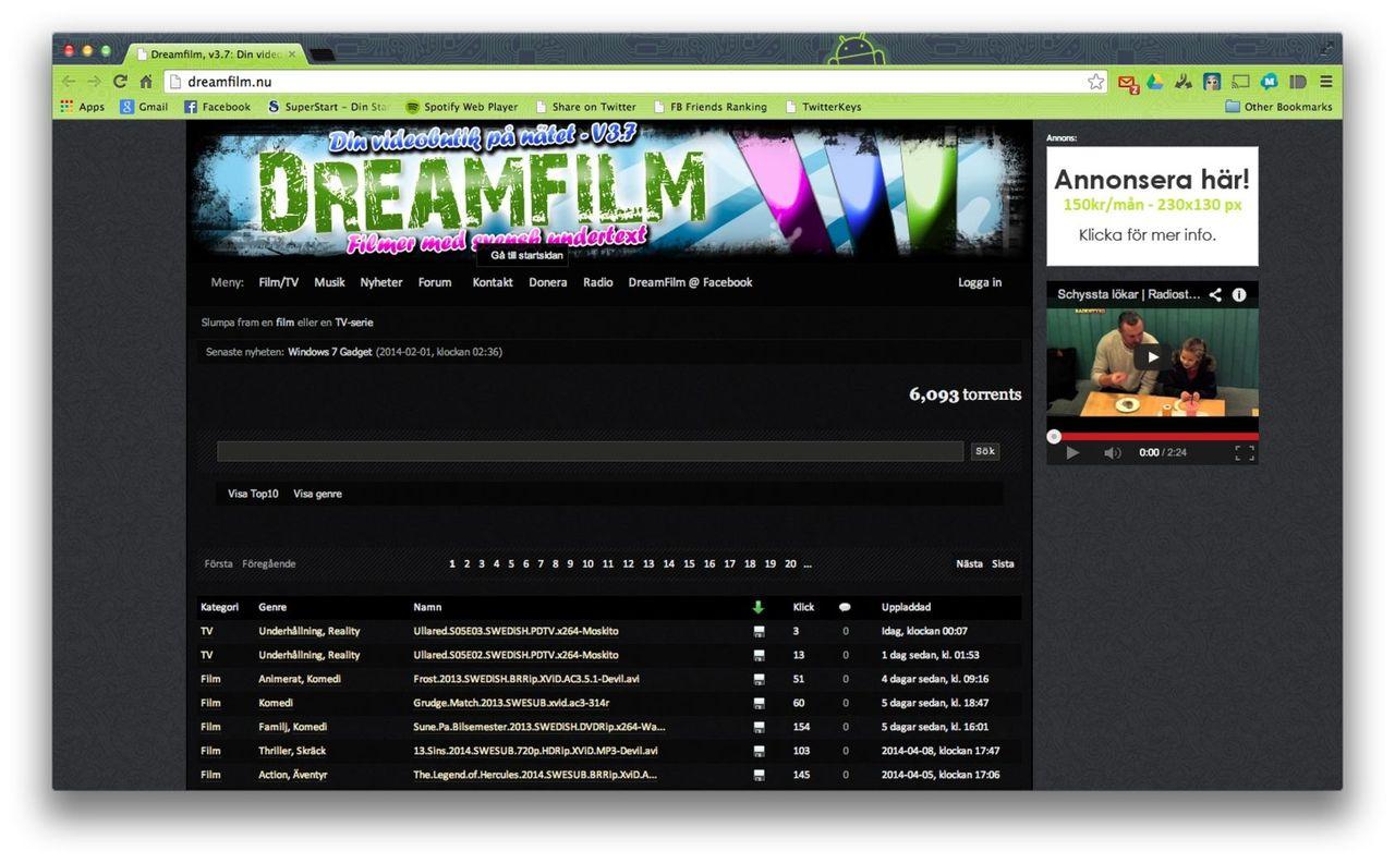 en man som heter ove stream dreamfilm