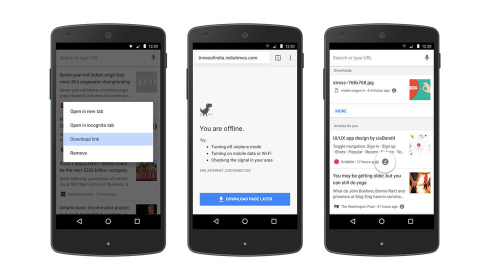 Chrome till Android blir ännu bättre offline