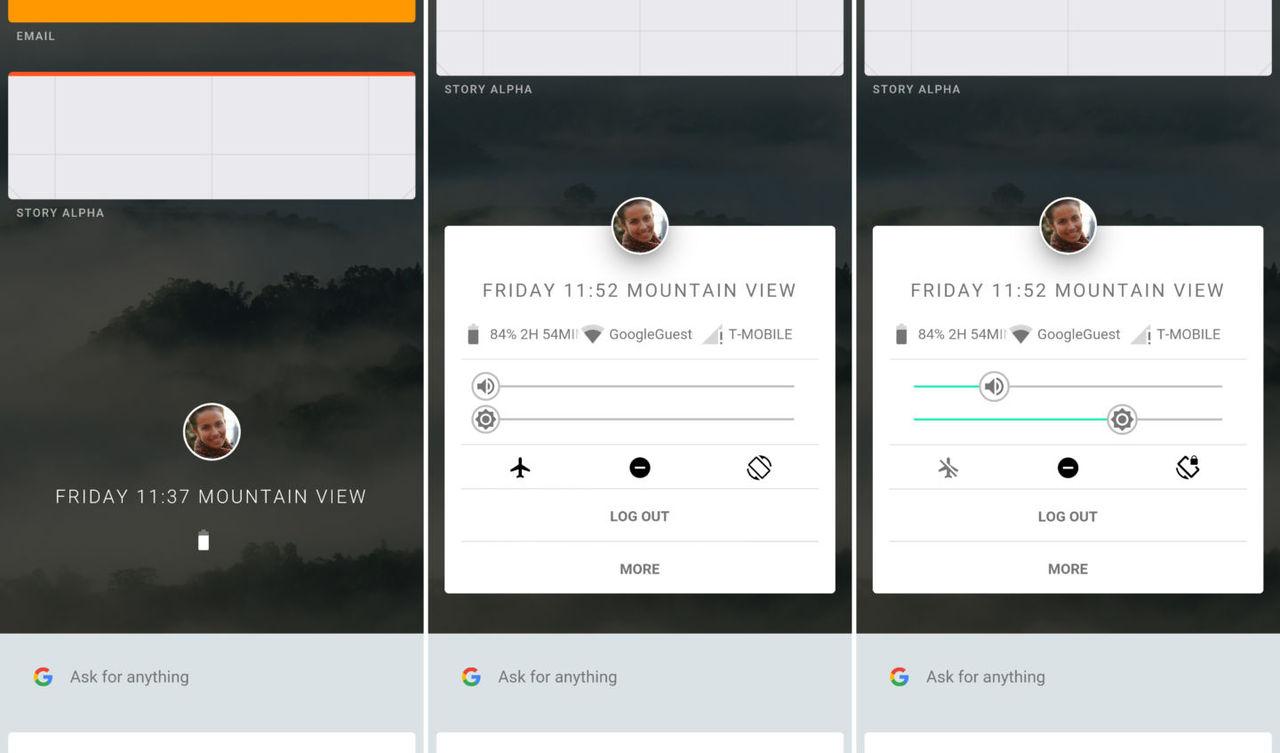 Så här ser Google Fuchsia ut på mobilen