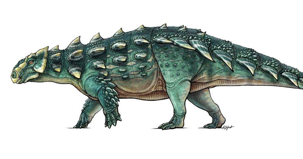 Dinosaurie får namn efter monster från Ghostbusters