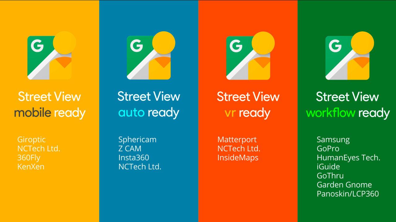 Google tar fram 360-kameror