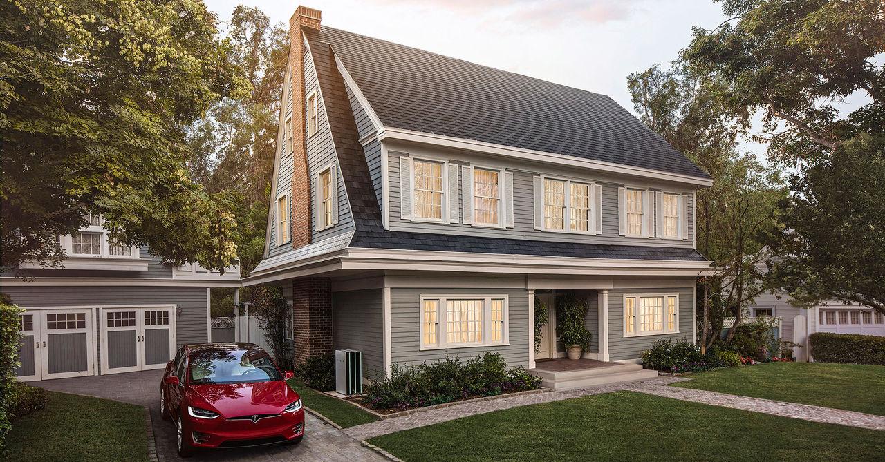 Nu går det att beställa Teslas soltak för hemmet