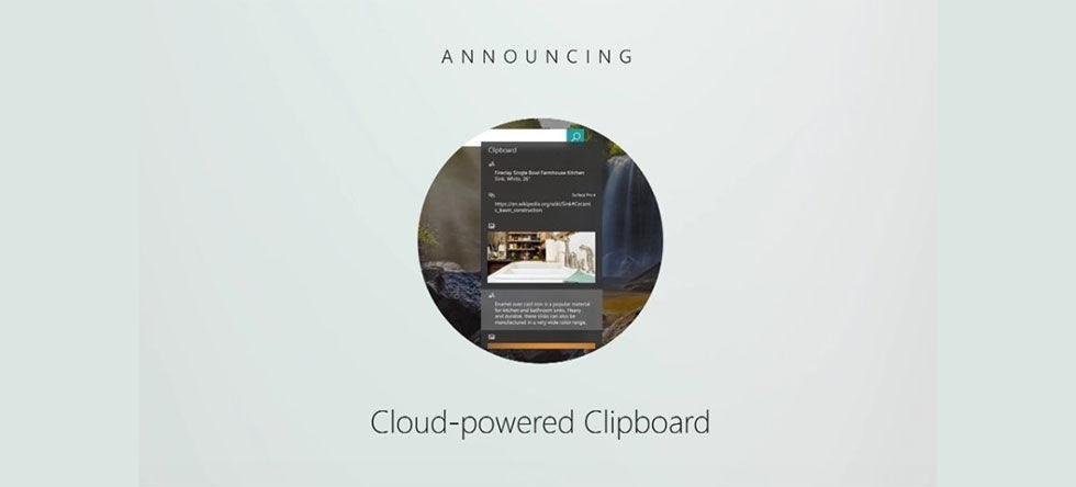 Klipp och klistra mellan dator och telefon med Cloud Clipboard