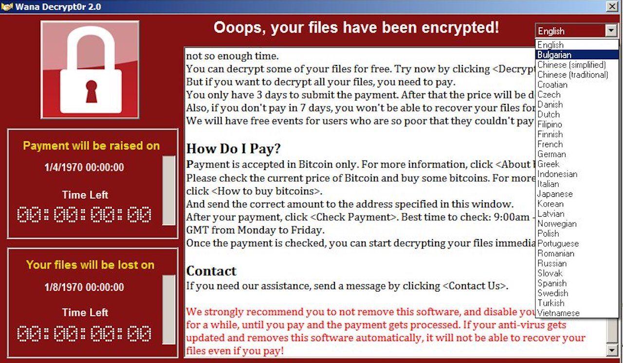 Massiv ransomware-attack pågår över hela världen