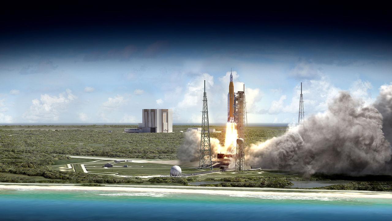 NASA flyttar fram premiären för Space Launch System