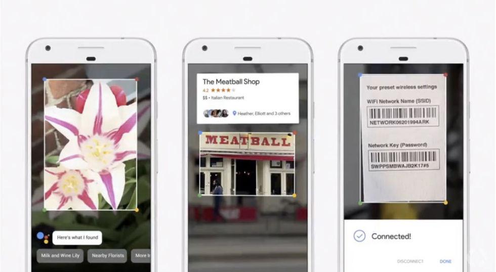 Google presenterar Google Lens