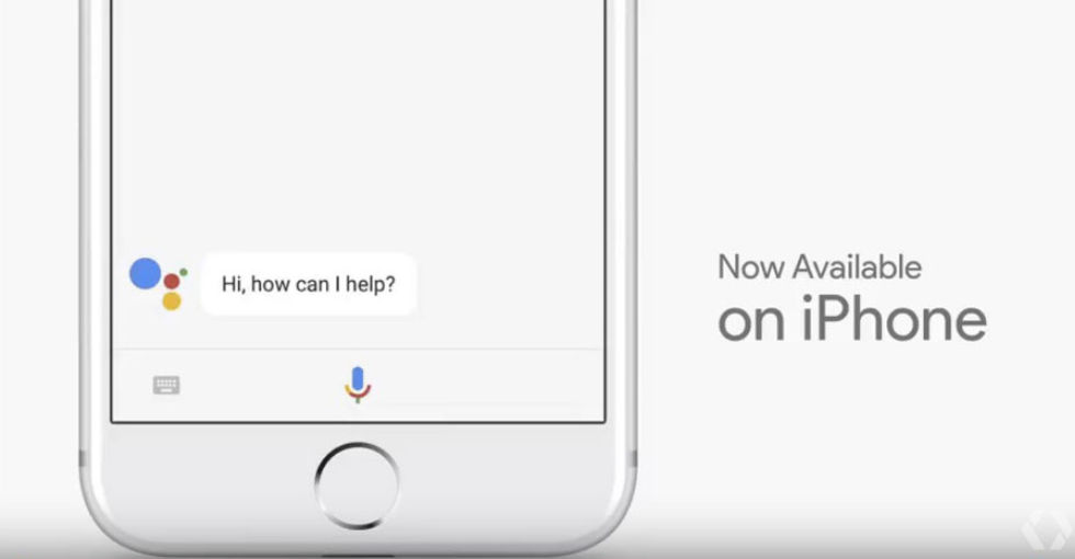 Google släpper Google Assistant till iPhone