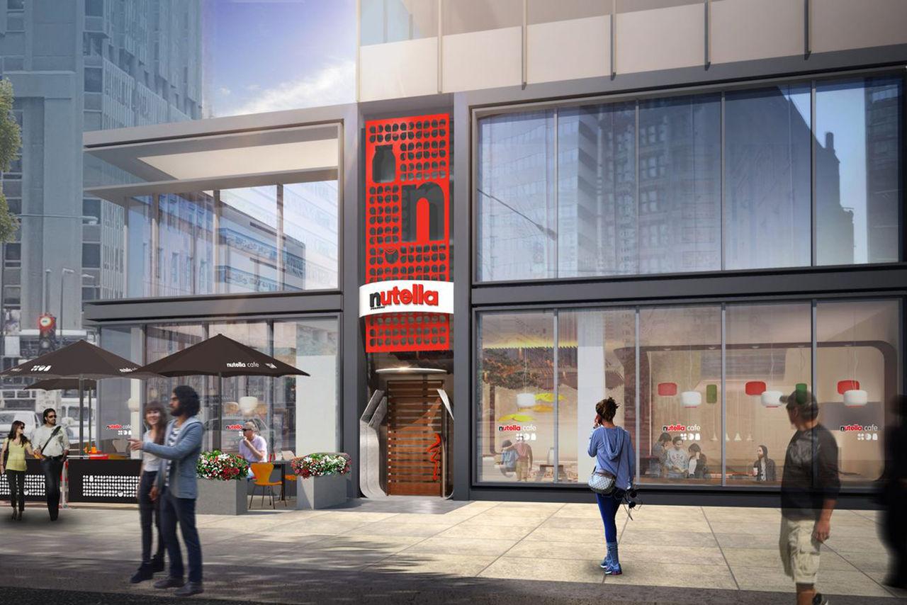 Officiellt Nutella-café öppnar snart i Chicago