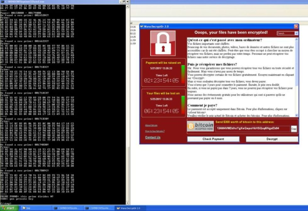 WannaCry-infekterade Windows XP-maskiner kanske går att rädda