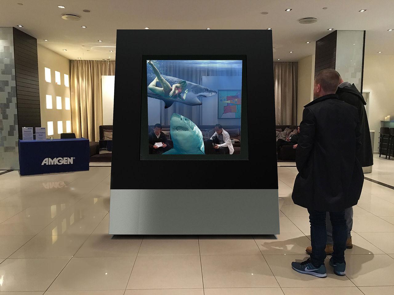 DeepFrame en skärm för mixed reality