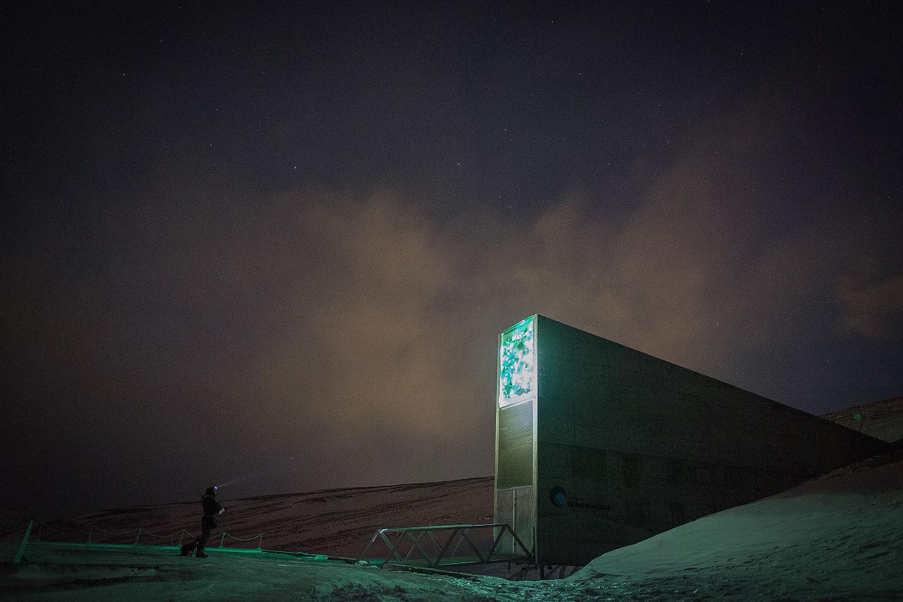 Domedagsvalvet på Svalbard drabbat av översvämning