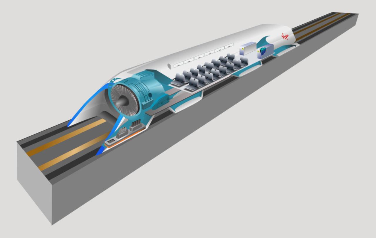 Norges miljöparti vill bygga en Hyperloop