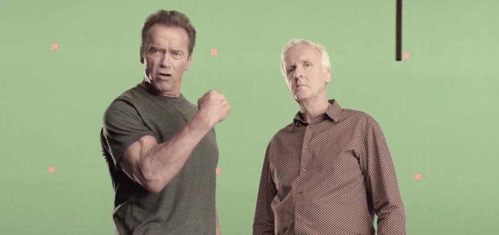 Arnold Schwarzenegger återvänder till Terminator