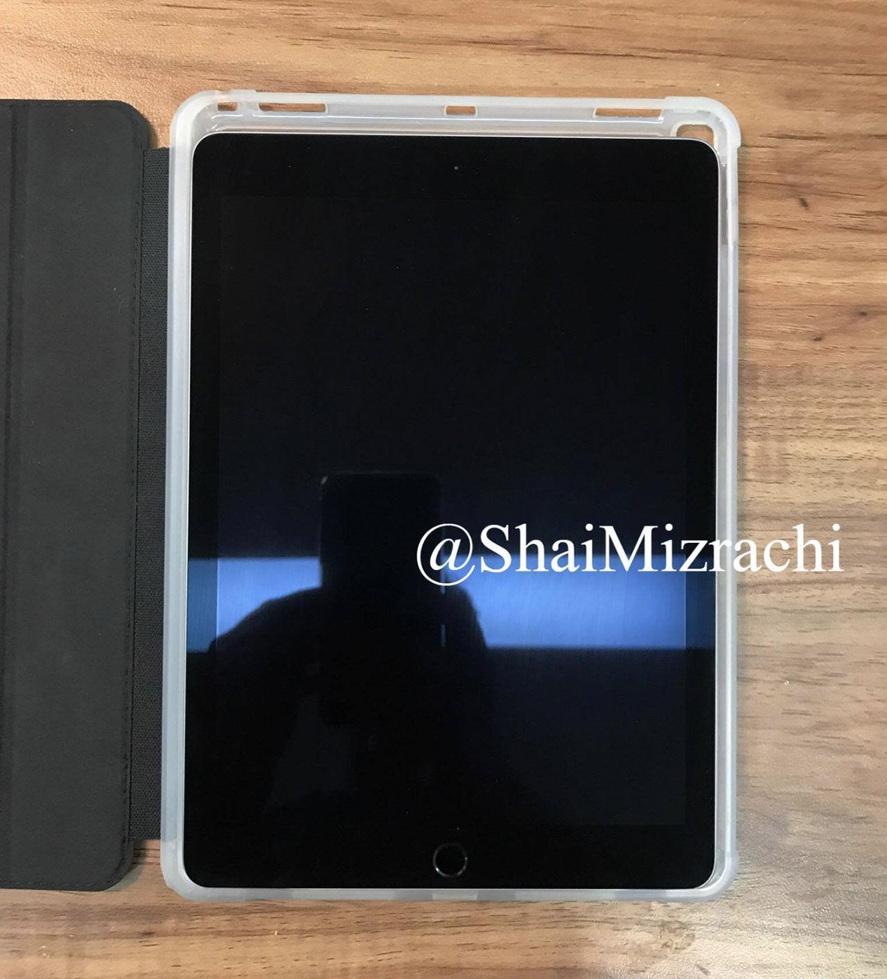 Fodral läckta för iPad i ny storlek