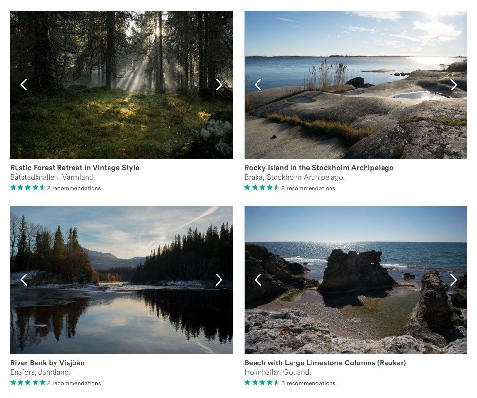 Nu finns Sverige på Airbnb
