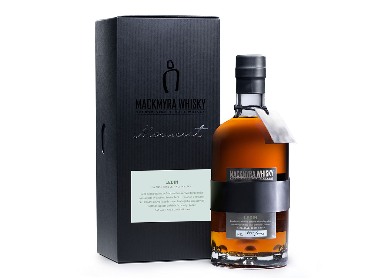 Tomas Ledin lanserar whisky med Mackmyra