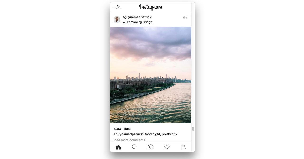 Posta dina bilder från datorn till Instagram med Poster