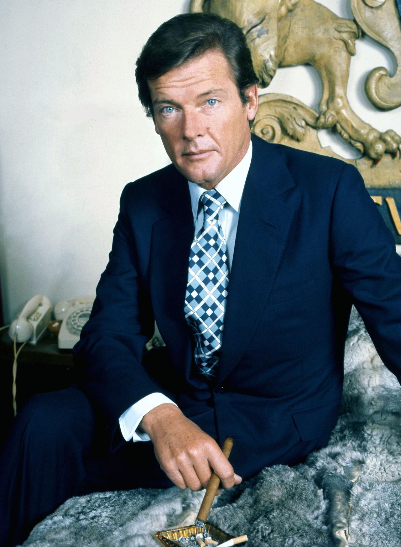 Sir Roger Moore är död