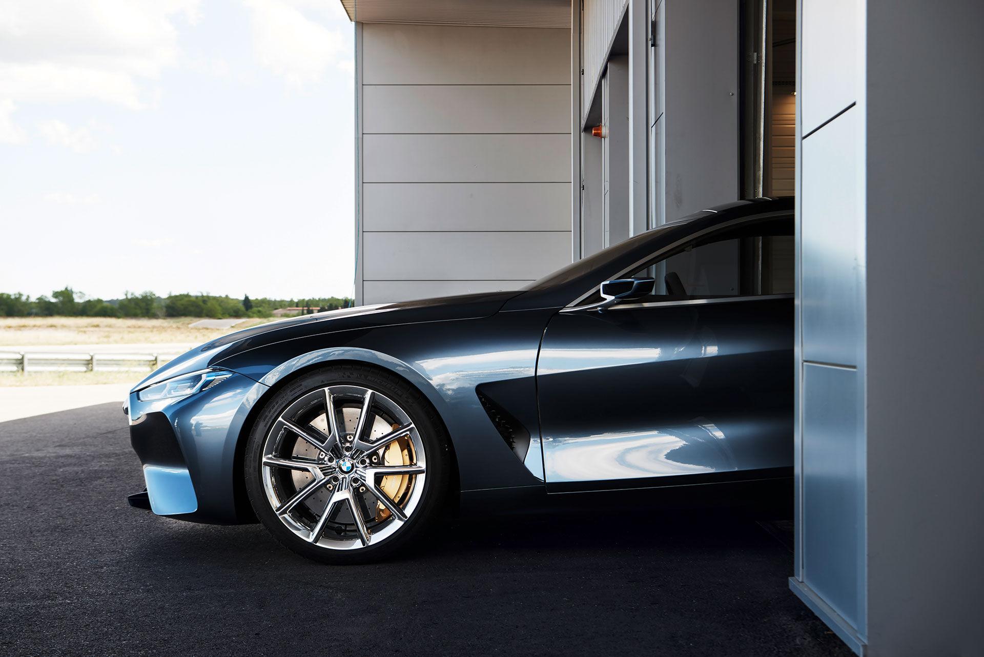 BMW visar upp koncept av 8-serien