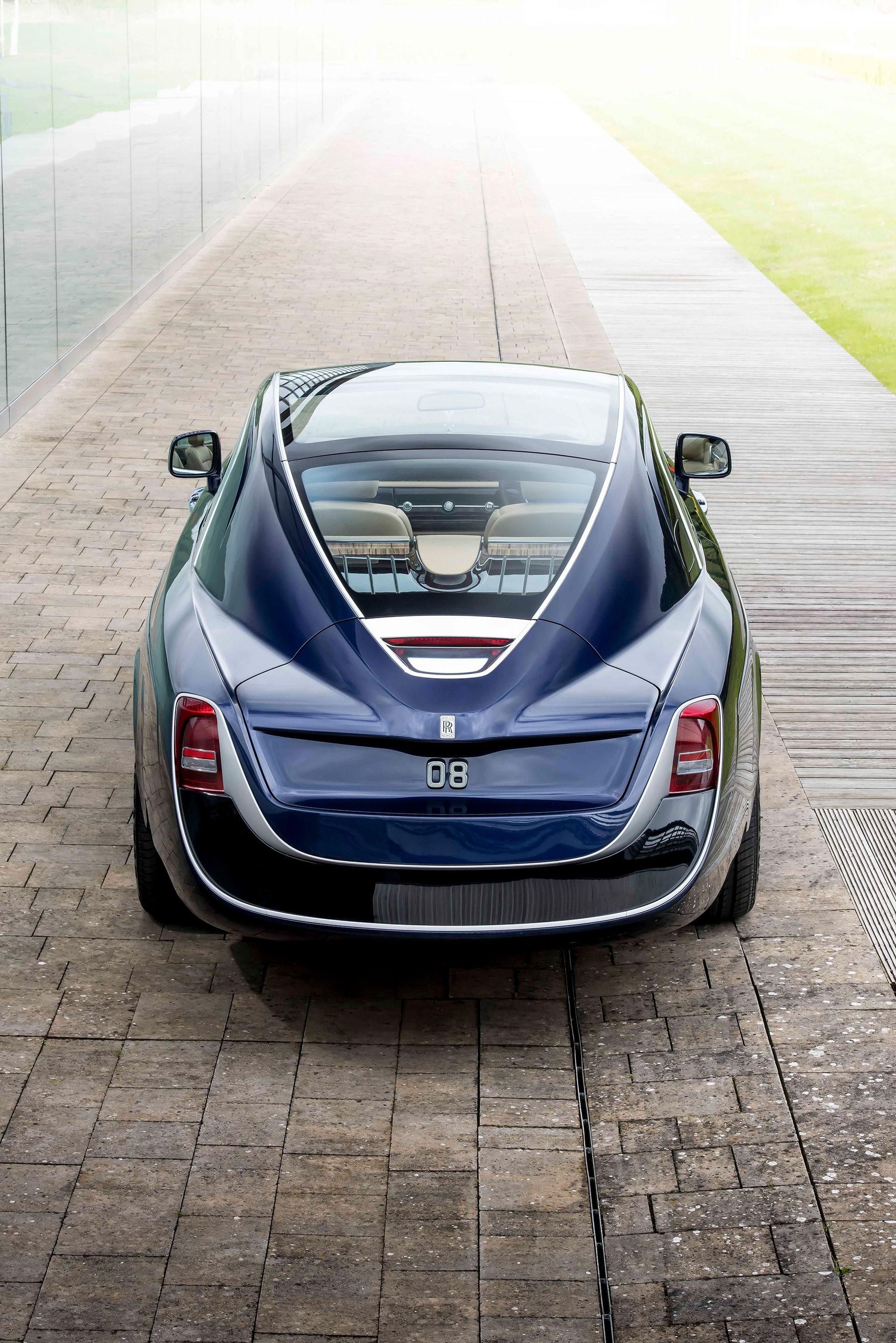 Sweptail är Rolls-Royce senaste specialbygge