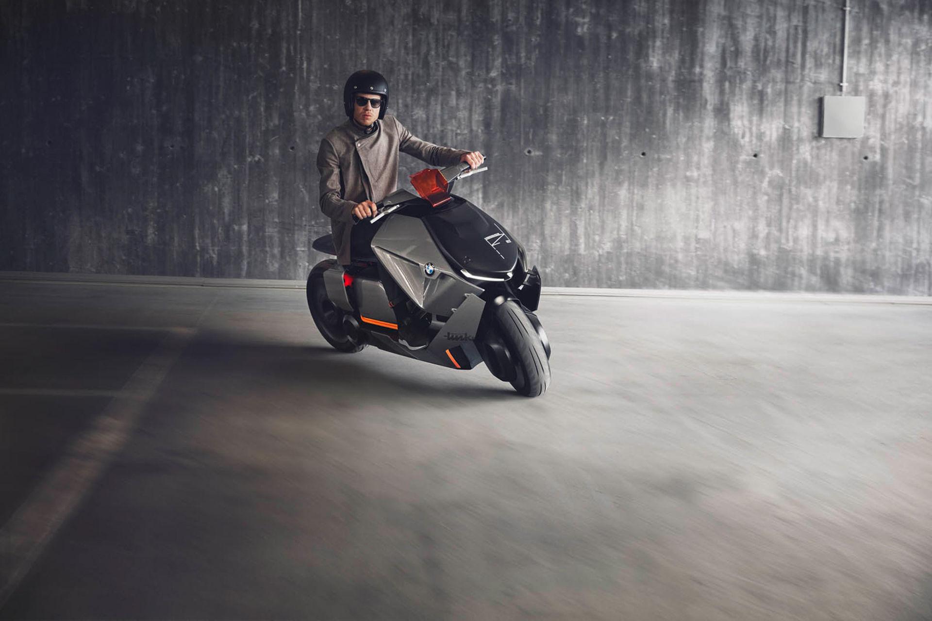 Futuristiskt scooter-koncept från BMW