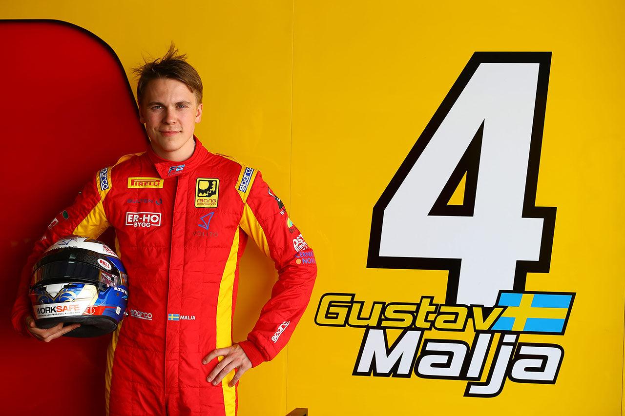 Gustav Malja är klar för sitt första Formel 1-test