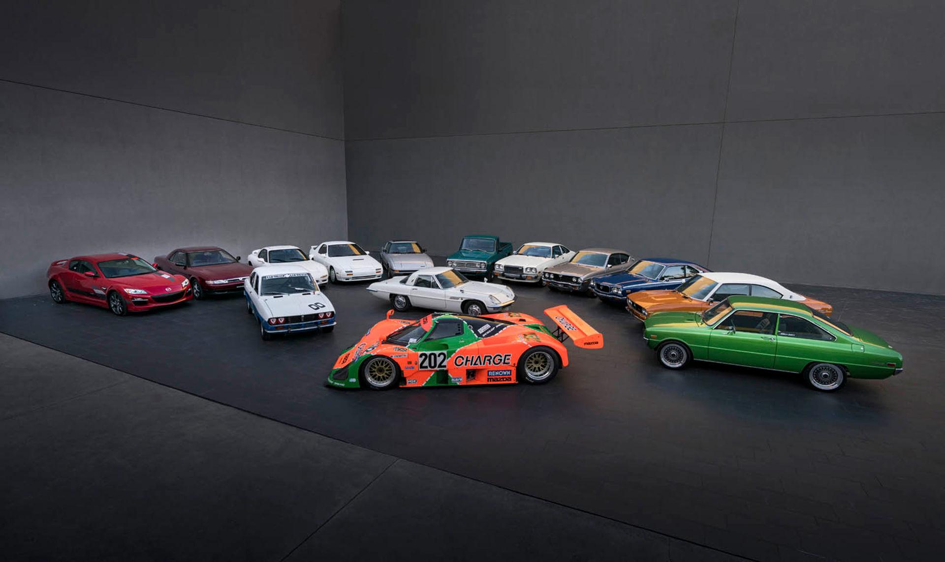 Mazda firar 50 år med Wankel-motorn