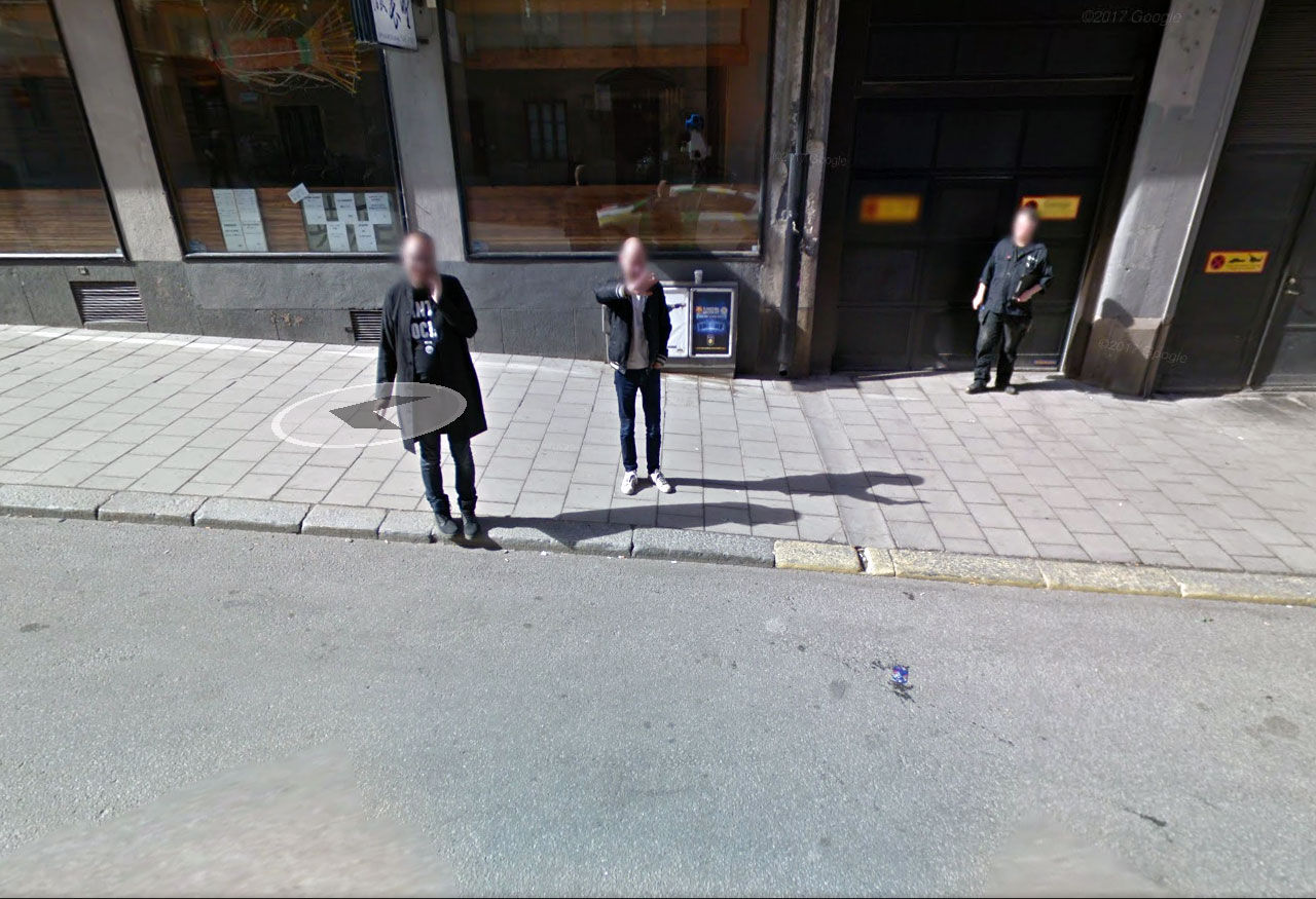 Google Streetview firar 10 år