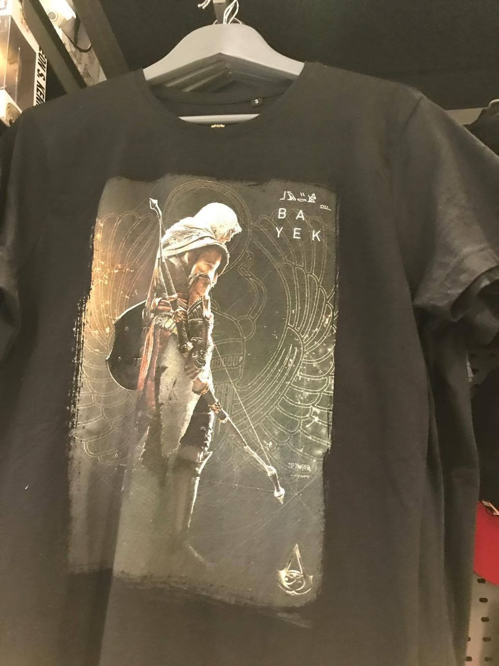 Huvudpersonen i Assassin's Creed: Origins heter Ba Yek