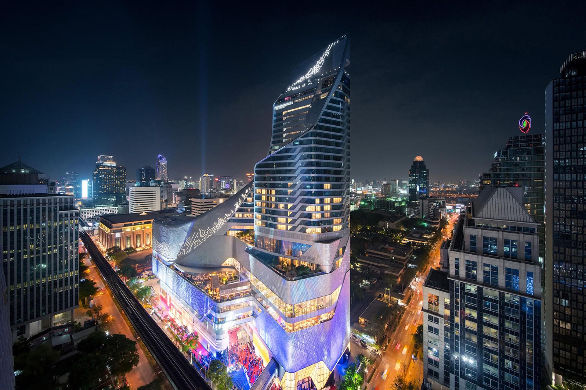 Det första Park Hyatt-hotellet öppnat i Thailand